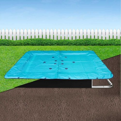 14ft x 10ft Jump Shack In-ground Trampoline Cover