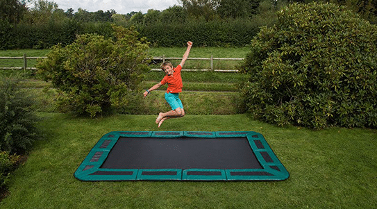 In-ground trampolines safe for all ages