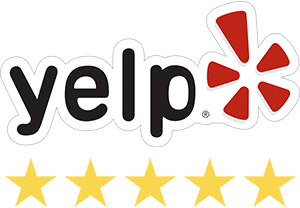 Five star yelp rating for The Jump Shack