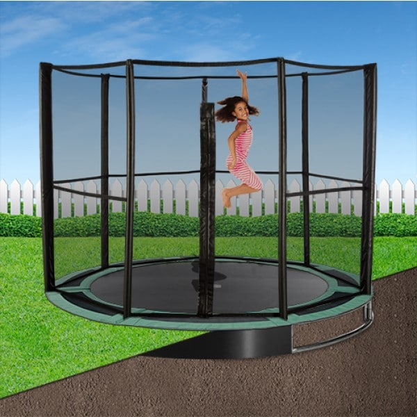 12ft Capital In-Ground Trampoline Safety Enclosure - Full
