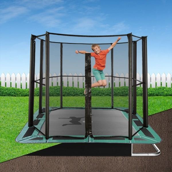 14ft x 10ft Capital In-Ground Trampoline Safety Enclosure - Full
