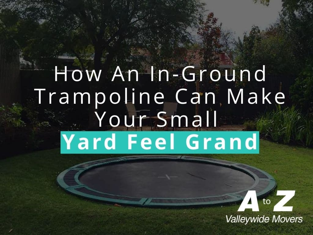How An In-Ground Trampoline Can Make Your Small Yard Feel Grand
